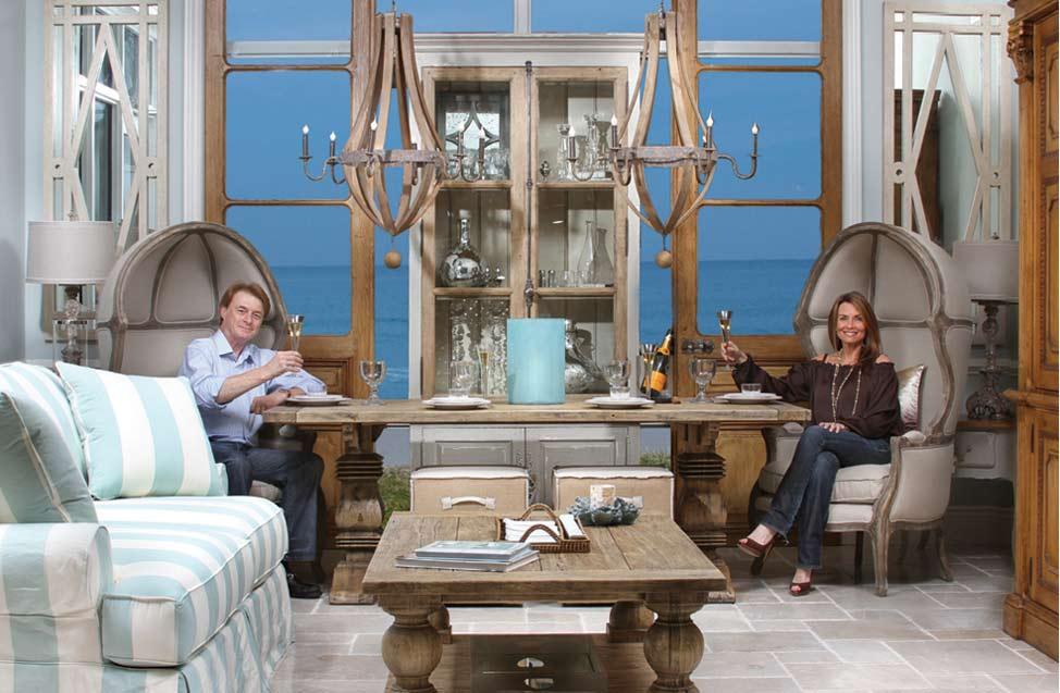 Stephanie and Bernard Molyneux